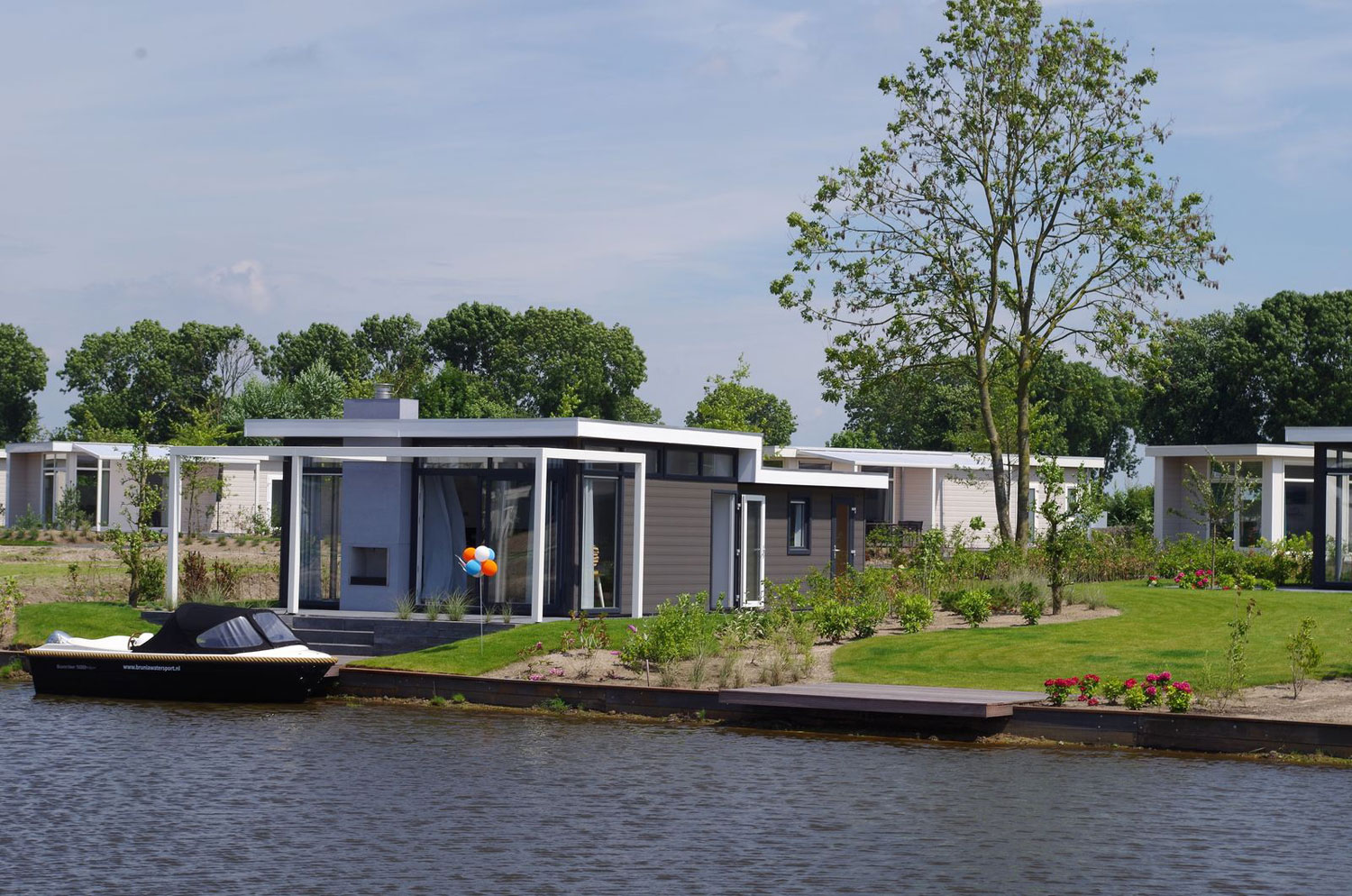 Waterside bungalow